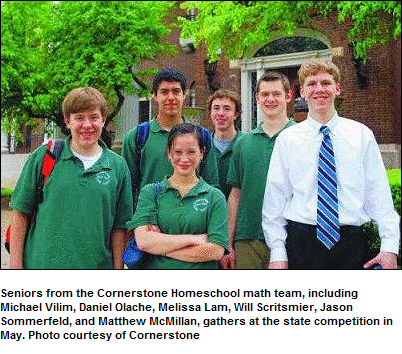 homeschool math competition