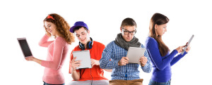 7864053 Young people with tablets