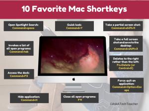 mac shortkeys