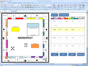 monoply in excel