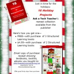holiday projects flier