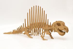 handmade wooden dinosaur