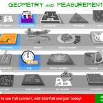 Math activities available (premium are greyed out)