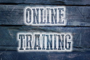 online training concept