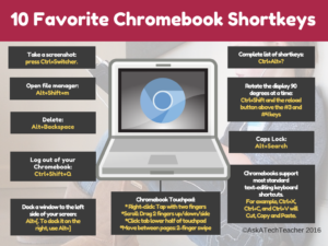 Chromebook shortkeys II