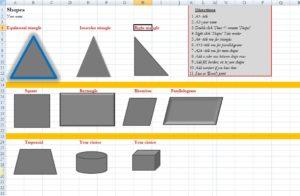 excel--shapes--sample