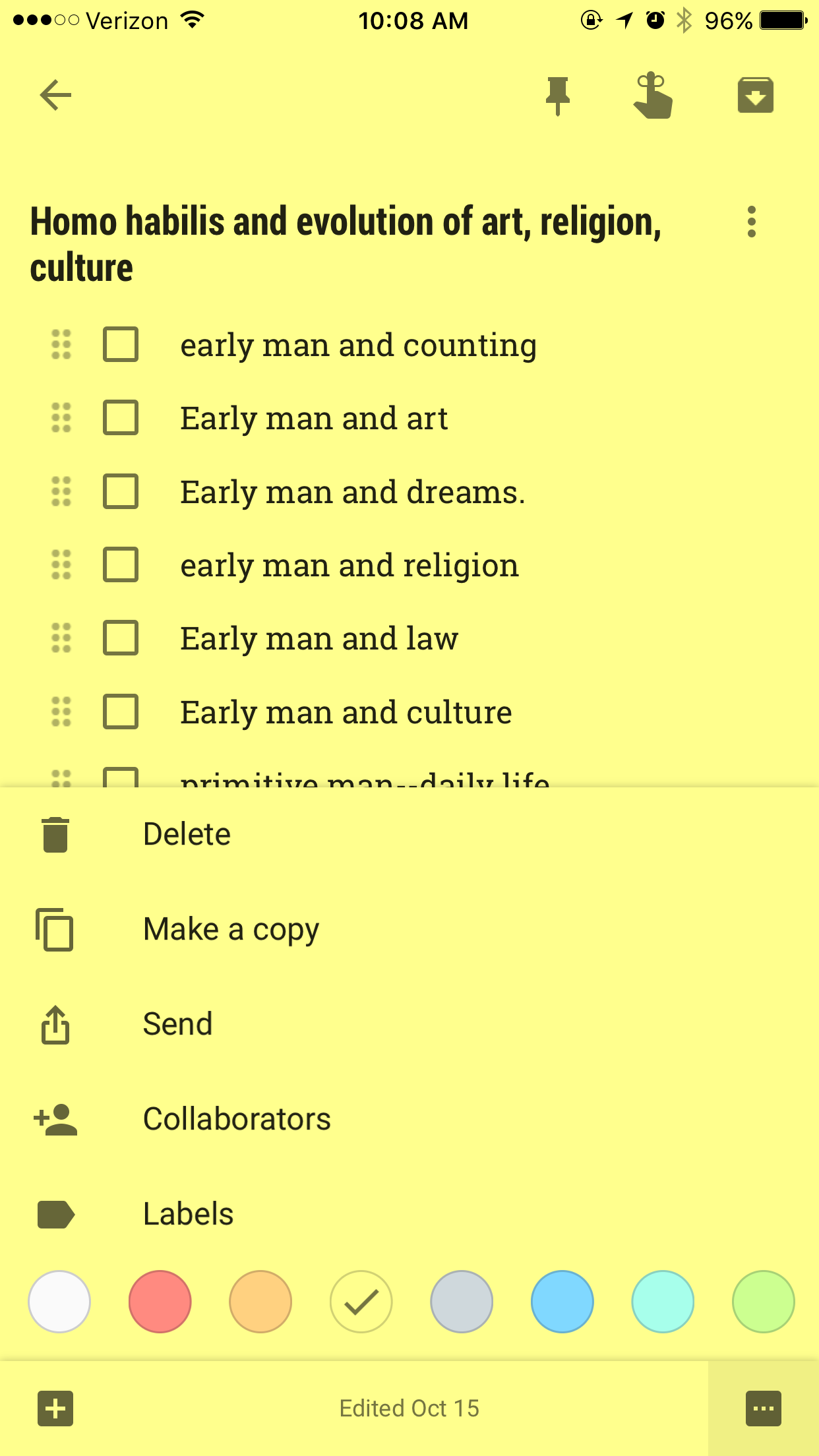 What is google keep and why use it in your classroom ask a tech bullet list for notes fandeluxe Images