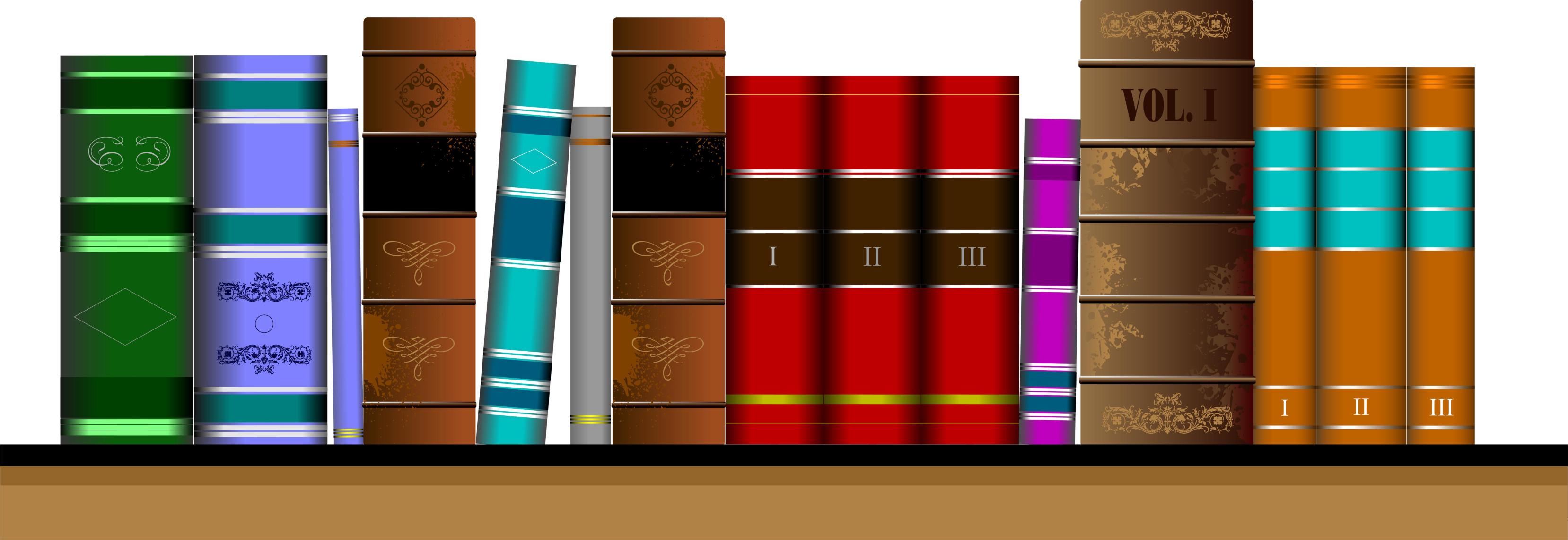 Library Bookshelf Clipart 8 Essential Books Ever...