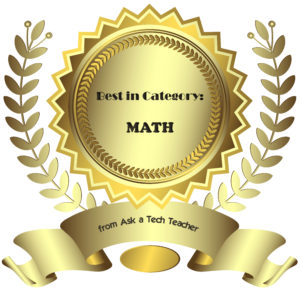 best-in-category-math
