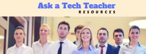 ask a tech teacher resources
