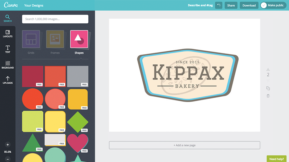 canva badge