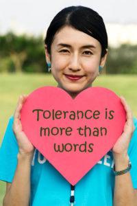 teach tolerance